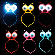 Wholesale 10Pcs Amazing LED Light-Up Toys Hair Braid Clip Hairpin LED Light Flash Toys baby Halloween Decor Party Fun Gift sale