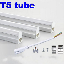 T5 Led Tube Light 300mm Integrated 0.3m 6W 12 inches Brightness Tube Lamp 1ft T5 Fluorescent light Tubes For Toilet 110V 220V UL
