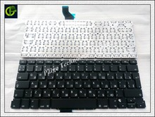 "Russian keyboard For Macbook Pro Retina 13"" A1502 ME864 ME866 2013 no backlit RU black Laptop Keyboard(China)"