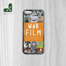 Personality Printing War Film Alphabet Style TPU Phone Back Shell For iPhone 6 6s And 4 4s 5 5s 5c 6 Plus Case Cover