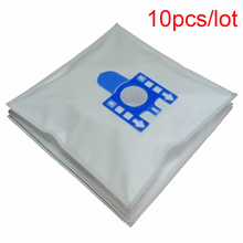 10Pcs/Lot Dust Bag For MIELE FJM Synthetic Type Hoover Hepa Vacuum Cleaner DUST BAGS