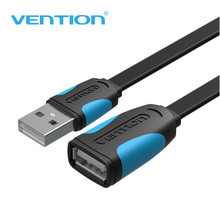 Vention USB 2.0 Male to Female HDMI USB Cable 1m 2m 3m 5m 3FT HDMI Extension Cable Cord Extender Cable Extended For PC Laptop(China)