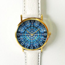DHL free shipping 100pcs/lot,Low Price Good Quality Cheap Hot Retro Game Garland Complex Watches Floral UNISEX Watch dress watch(China)