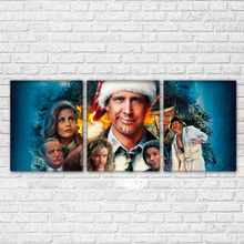 Modern HD Printed Modular Painting Frame Canvas 3 Pieces Christmas Vacation Pictures Home Wall Art Decor Movie Characters Poster(China)