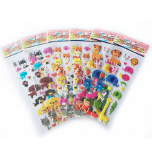 5 PCS/LOT Animal Bubble Stickers Diary Decorative Cartoon Phone Stickers Bubble Stickers Cute Animal Kingdom WYQ(China)