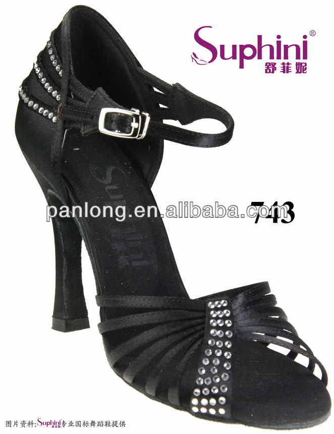 Free Shipping Woman Latin  Shoes Competition Heel Dance ShoesBallroom Latin Dance Shoes<br><br>Aliexpress
