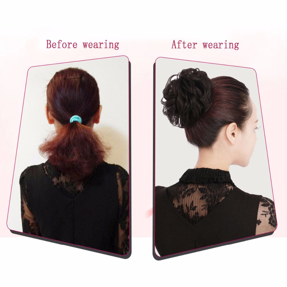 Allaosify-Synthetic-Hair-Chignons-Elastic-Scrunchie-Hair-Extensions-Ribbon-Ponytail-Hair-Clip-Bundles-Hairpieces-Donut-Buns (4)