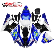 Fairings For Yamaha YZF-R6 YZF600 R6 06 07 Year 2006 2007 ABS Motorcycle Full Fairing Kit Moto Bodywork Eneos Red White Cowling