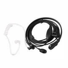 Super Bass Headphones Throat Mic Earpiece Headset Headphone PTT for Baofeng UV5R UV3R BF-888 BF-999 for android Phones Suppion(China)