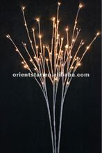"LED Battery Branch Light 40"" 60LED with 3 sub-branches Christmas branch light wedding table decoration branch twig light"
