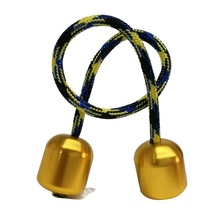 Funny Finger Extreme Movement Stainless Steel Two Beads A Rope Finger Movement Toy Cool Anti Stress Creative Kids Toy Gift X24