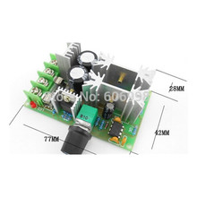 5pcs/lot DC 12V 24V 36V 48V Adjust Speed Module PWM Speed Controller Car Blower Cleaner PWM 20A