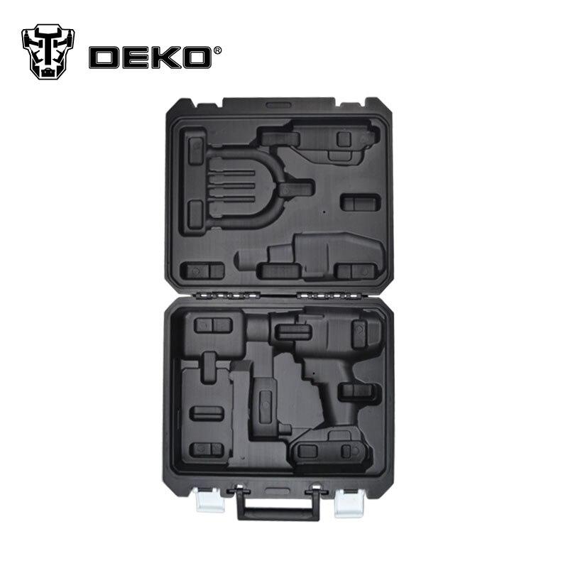 DEKO tool 18V cordless drill BMC Plastic box not include cordless drill<br><br>Aliexpress