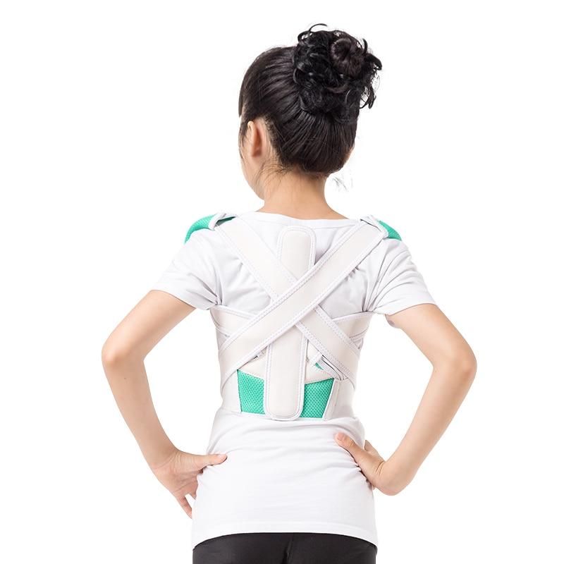 High Quality Children Health Products Back Corset Brace Posture Corrector Belt for Back Orthopedic pain release Shoulder Support<br>