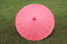 New solid color paper parasol Fancy bridal wedding parasols Diameter 23.6 inches 9 colors available