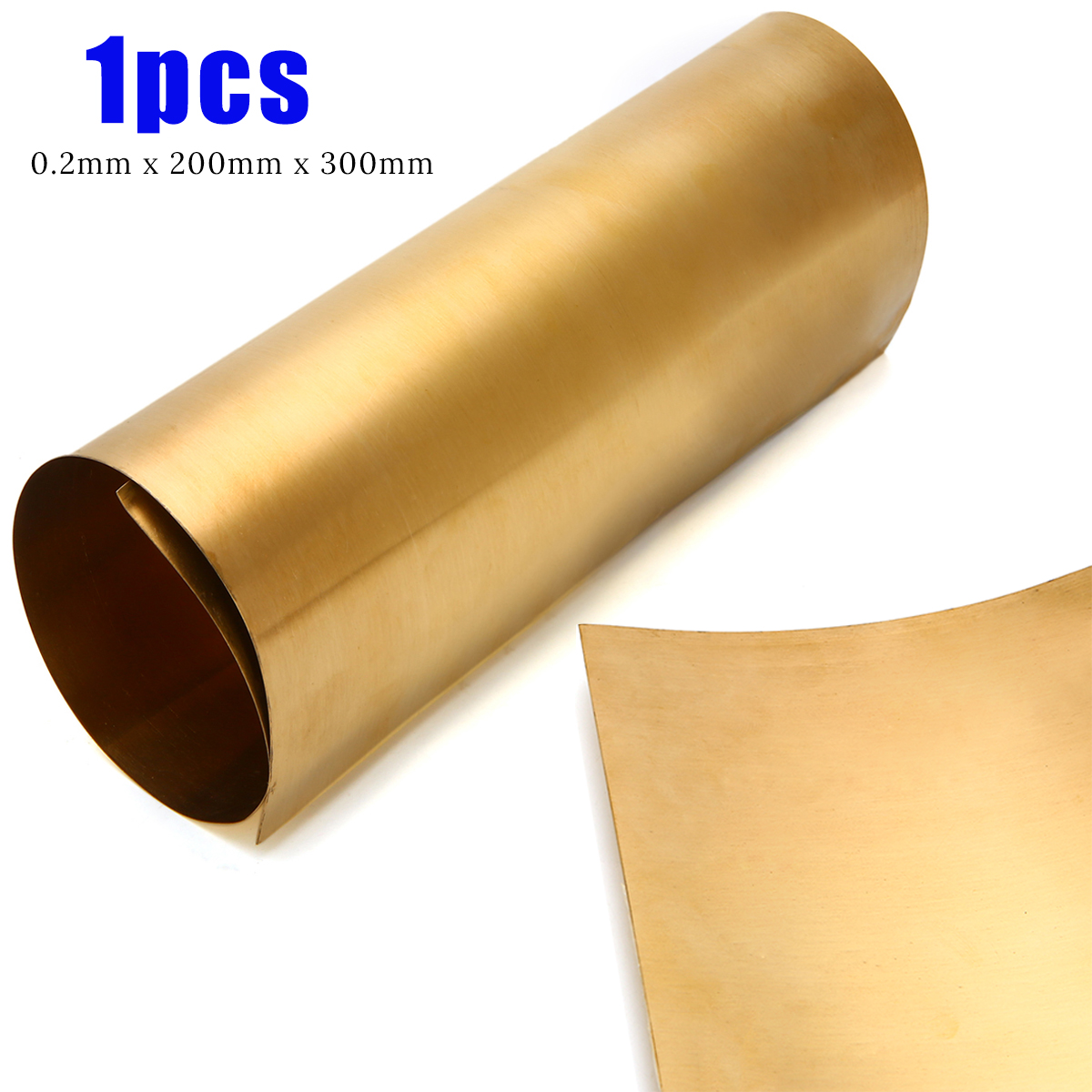 LOKIH Brass Sheet Percision Metals Raw Materials,3x100x150mm