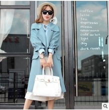 Very good quality new products listed winter 2016 new products to market, the original design loose women big yards wool coat(China)