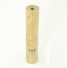 Gold NEMESIS Mechanical Mod Clone Vaporizer Vapor Vape Battery Box Mod