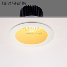 Dimmable Recessed COB LED Downlight CREE 2.5 3 4 5 6 inch 7W 9W 12W 18W 25W 30W Ceiling LED Down Light 240V Commercial Lighting(China)