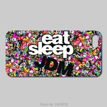 High Quality smartphone Cell phone cases For iPod Touch 6 5 4 Case Hard PC JDM Sticker Patterned Cover