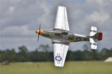 FMS RC Airplane 1450MM 1.4M P51 P-51 Mustang Old Crow Newest V8 PNP Durable EPO Gaint Warbird Big Scale Model Plane Aircraft(China)