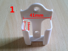 New TV DVD Gree Air Conditioner Wall Mount Remote Control Holder Wall Mounted 41mm*16mm (1.61in*0.63in)(China)