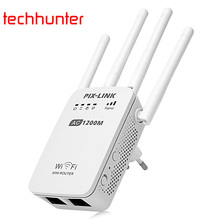 PIX - LINK LV - AC05 1200M Dual-band WiFi Router Range Extender Supporting Router Client Repeater AP WISP mode WIFI Repeater