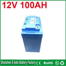 Free to RU  China manufacturer Maintenance Free lead acid deep cycle AGM battery 12v 100ah backup battery for solar system