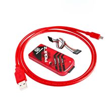 5sets/lot  PICKIT2 PIC Kit2 Simulator PICKit 2 Programmer Emluator Red Color w/USB cable Dupond Wire
