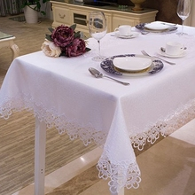 White Tablecloth Lace Tablecover Lace TabletopperOblong Fashion Lace Tablecloth Many Size