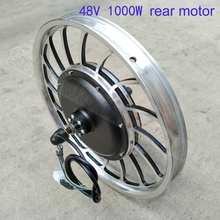 Customized speed and torque 48V 1000W electric bike disk brake hub motor  for 20inch 60V e-bike  and e-scooter G-M055