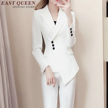 Buy Womens business suits blazer white black business suits women fashion office uniform designs women DD254 for $69.30 in AliExpress store