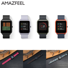 Buy AMAZFEEL 20mm Leather Wristband Original Xiaomi Huami Amazfit Bip BIT PACE Smart Watch band bracelet Lite Youth Mi Fit bands for $7.92 in AliExpress store