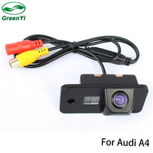 GreenYi Special CCD Chip Car Rear View Camera Reverse Backup Parking Camera For Audi A3 A4 A6 A8 Q5 Q7 A6L