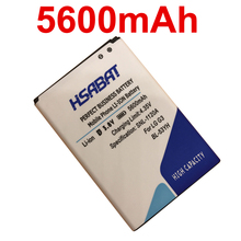 HSABAT New 5600mAh BL-53YH Battery Use For LG G3 Battery D858 D855 D857 D859 D850 F400 F460 F470 D830 D851 VS985 G3 Battery