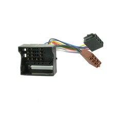 Msanzeo ISO Stereo Adaptor Car ISO Audio Head Harness Wiring for BMW Mini Cooper S 1 Series E81 E82 E87 E88 7 Series e65 e66 e67(China)