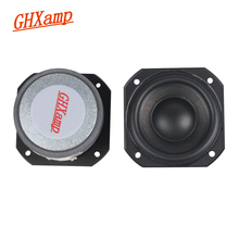GHXAMP 2 INCH 4OHM 10W-20W Rubber Bluetooth Full Range Speaker Tweeter Mediant Woofer Home Theatre For Peerless Speaker Diy 2PCS(China)