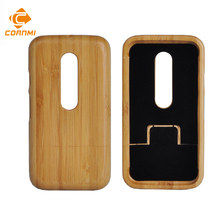 CORNMI Wood Bamboo Phone Case For Motorola Moto G3 G 3 g 3rd Gen lg g3s 5.0 inch Back Cover Fundas Coque Cases Hard Shell Capa