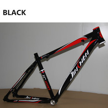 Best prices MTB bicycle frame quality aluminum alloy 26 27.5 17 inch light weight Tapered headset tube mountain bike frame(China)