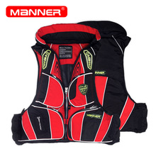 MANNER Outdoor Life Jacket Adult Oxford Professional Tactical Swimming Rafting Fishing Jacket Kayak Life Vest ST