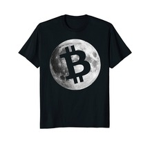 Buy 2018 New Summer Tee Shirt Mens Bitcoin Logo Moon Shirt Cryptocurrency Money Gift Geek Fashion T-shirt for $12.99 in AliExpress store