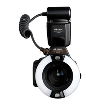 JY670C Macro Close-Up ttl Ring LED Flash Speedlite for Canon 5d3 6d 7d 60d 70d 80d 600d 650d 700d 750d 760d 1200d 1300d camera
