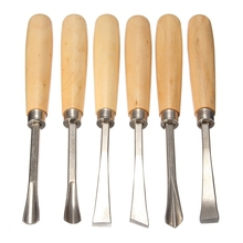 Gouge Chisel Facas New Arrival Hot Sale Chisel Woodworking 3 Sets/lot _ 6pcs Graver Woodcaving Knife Root Wood Caving Tool(China)