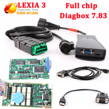 Lexia3 PP2000 Lexia 3 Diagbox V7.83 firmware 921815C Full chip Lexia3 PP2000 for Citroen for Peugeot Diagnostic Tool free ship