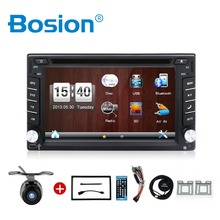 "Universal 2 Din 6.2"" In Dash Car DVD Player GPS/ Radio/FM/USB/SD/Bluetooth/ HD digital touch screen full popular function free"