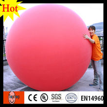 dia 4m remote control self inflating helium balloons for advertising fly sky toys ball 0.2mm PVC