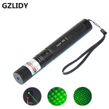 Green Laser sight High Power hunting Green Dot tactical 532 nm 200mw 303 laser pointer verde lazer Pen Head Burning Match(China)