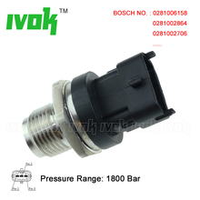 Auto Spare Parts Diesel Fuel Rail Pressure Sensor For Lancia Delta III Musa Thesis Ypsilon 1.3 1.6 1.9 2.0 2.4 D JTD 504247741(China)