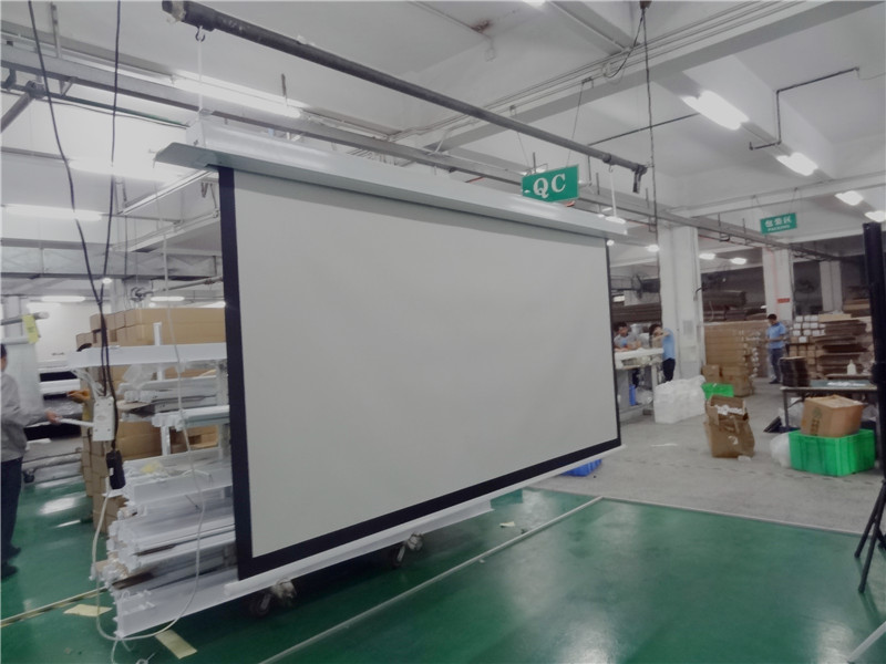 Inceiling screen