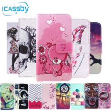 Phone Etui For Coque Samsung Galaxy S5 Case Luxury Leather Wallet Flip Cover For Samsung S5 Neo S5 Duos I9600 Housing Capinha